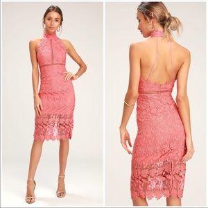 Bardot   Noni Halter Dress Bright Melon Size 8/M